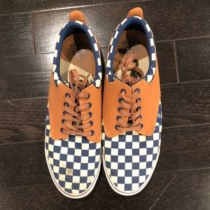 Radii Size 11 Sneakers - Navy Checkered